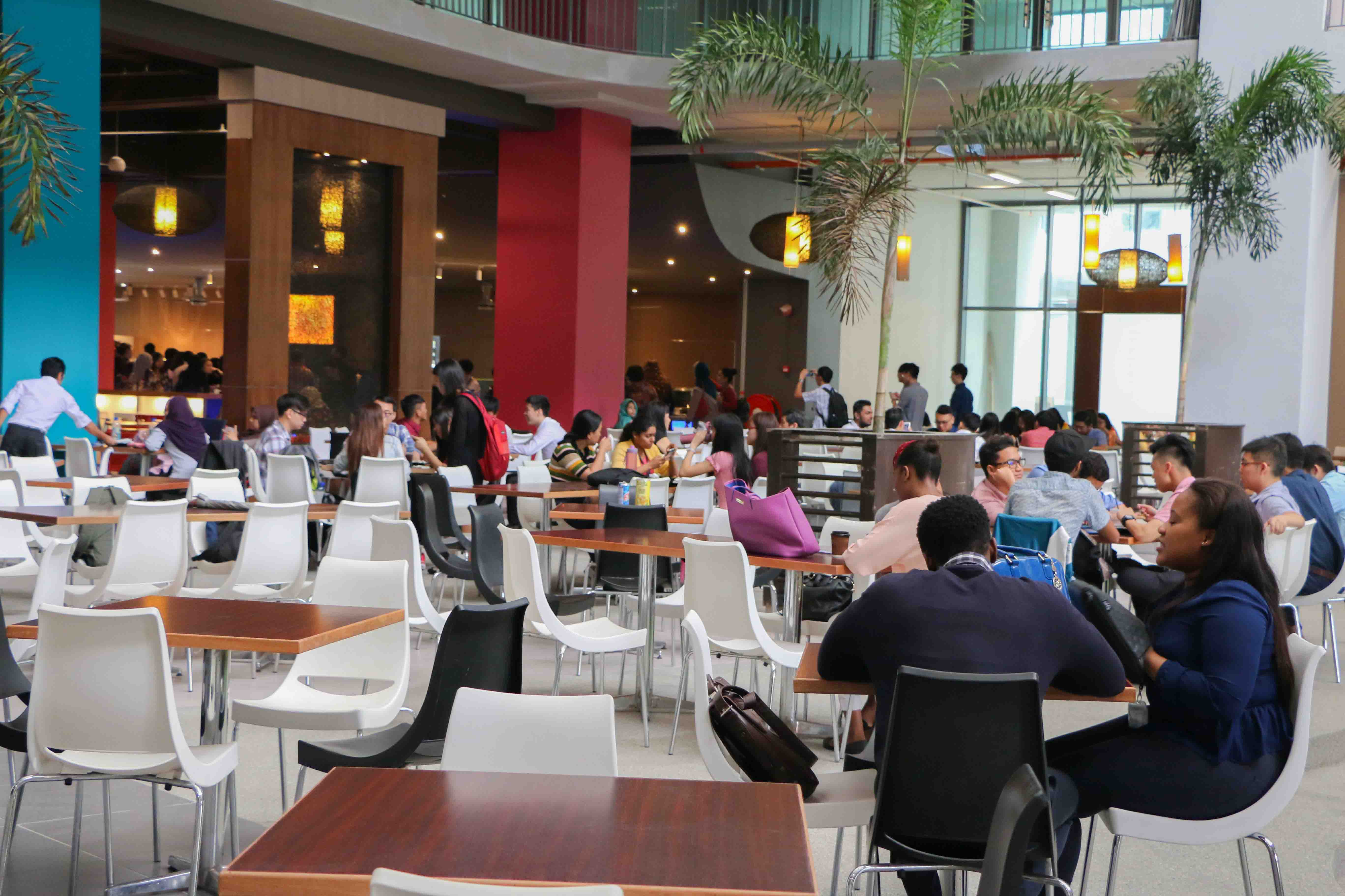 cafeteria asia pacific university apu