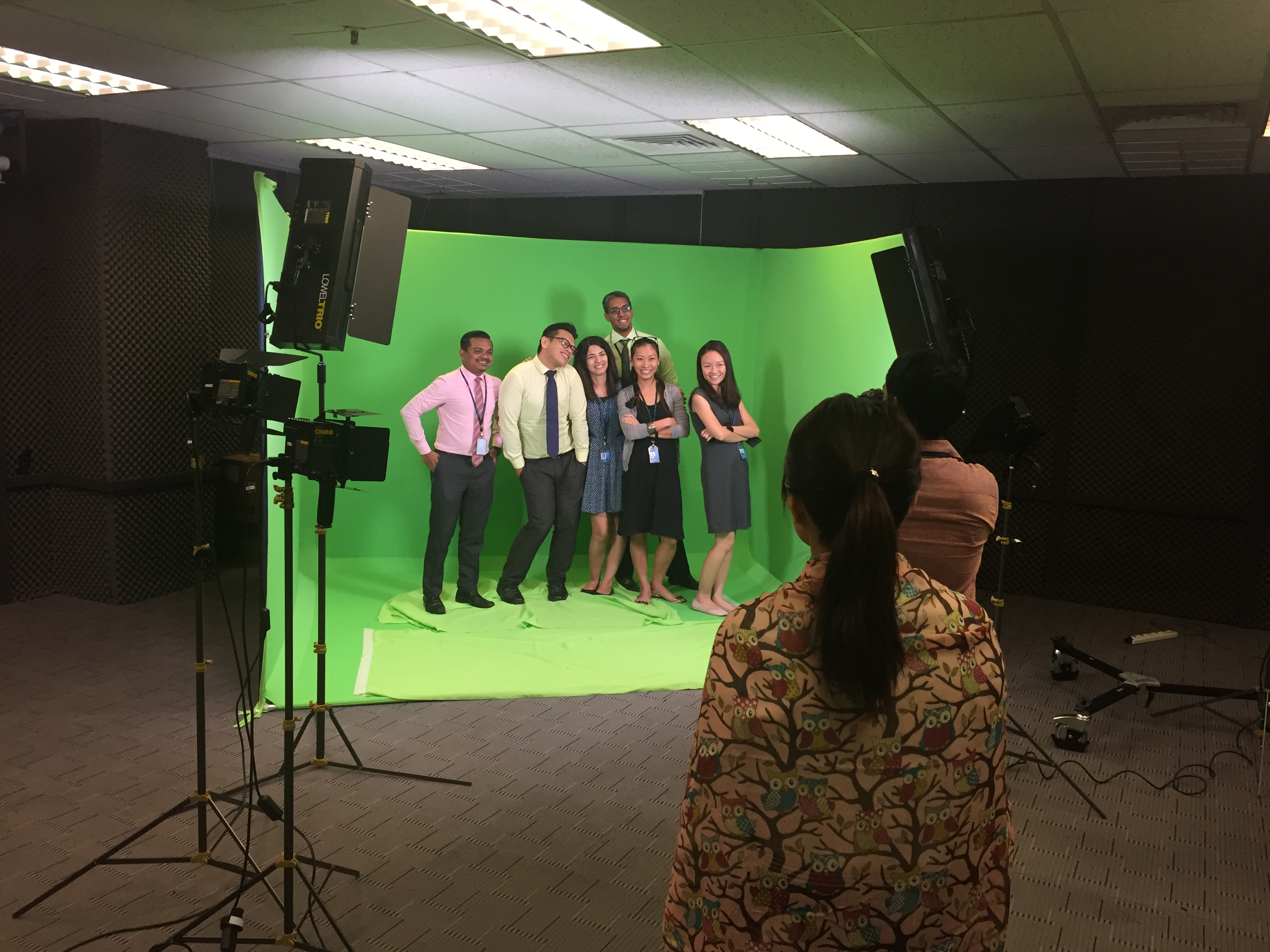 Green Screen Studio Asia Pacific University Apu