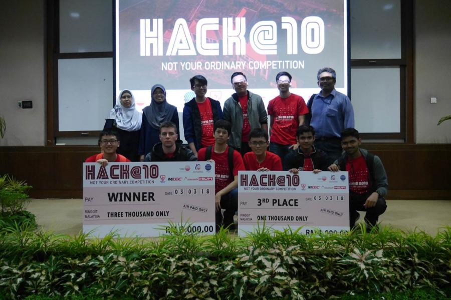 Double Win at Hack @ 10 | Asia Pacific University (APU)