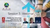 Embedded thumbnail for Double Your Advantage Dual Awards with De Montfort University, UK