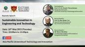 Embedded thumbnail for SIET Annual Conference: Sustainable Innovation In Engineering And Technology