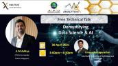 Embedded thumbnail for Technical Talk: Demystifying Data Science & AI