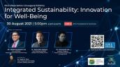 Embedded thumbnail for ISUC Plaza Series 1 (Inaugural Edition): Integrated Sustainability: Innovation for Well-Being