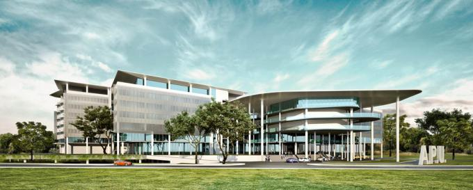 APU's proposed ultra-modern new University Campus located within Technology Park Malaysia (TPM).
