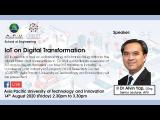 Embedded thumbnail for IoT on Digital Transformation