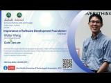 Embedded thumbnail for Importance of Software Development Foundation - Mr Walter Wong, Gain Secure