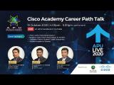 Embedded thumbnail for Cisco Academy Career Path Talk