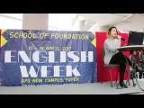 Embedded thumbnail for English Week 2017