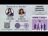 Embedded thumbnail for ISWICT 2021: Research to Market