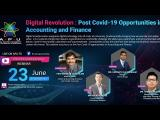 Embedded thumbnail for Digital Revolution: Post COVID-19 Opportunities in Accounting and Finance