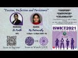 Embedded thumbnail for ISWICT 2021: Passion, Perfection and Persistence